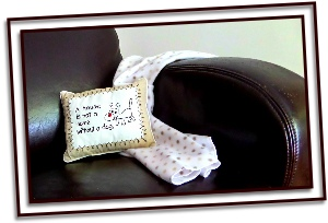dog pillow and blanket gift idea