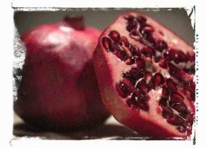 Pomegranate molasses dog treats