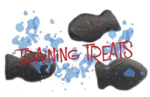 fish shaped dog treats