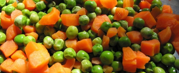 dog food ingredients veggies
