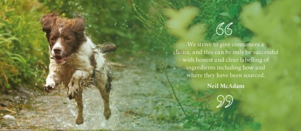 pet food quote