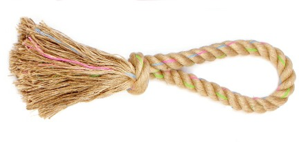 treats and toys rope