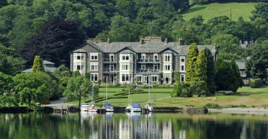 Lake district Inn on the Lake pet friendly