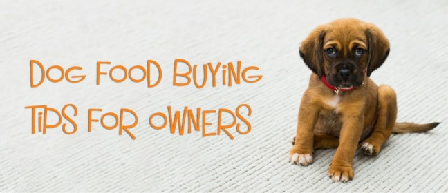 dog food buying cover