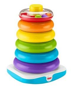 Pirâmide que Balança Mattel Multicolor (1+ ano)