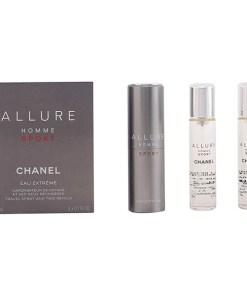 Conjunto de Perfume Homem Allure Homme Sport Chanel (3 pcs)