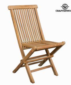 Cadeira de Campismo Acolchoada Teca