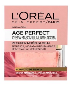 Máscara Iluminadora Age Perfect L'Oreal Make Up (50 ml)