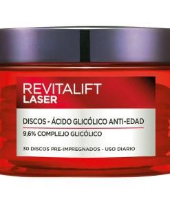 Tratamento Antimanchas e Anti-idade Revitalift Laser L'Oreal Make Up (30 uds)