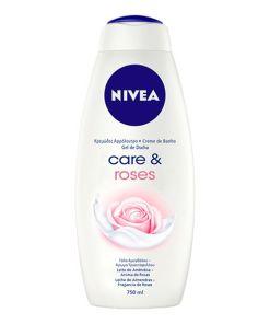 Gel de duche Care & Roses Nivea (750 ml)