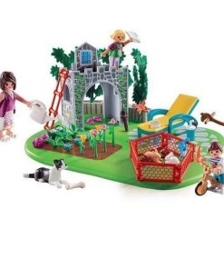 Playset Country Super Set Family In The Garden Playmobil 70010 (67 pcs)