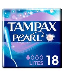 Pack de Tampões Pearl Lites Tampax (18 uds)