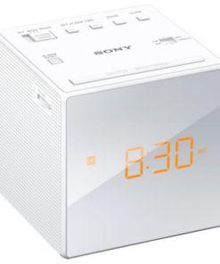 Rádio Despertador Sony ICFC1W LED Branco