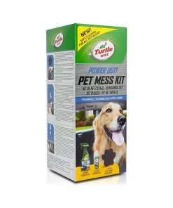 Kit limpador Turtle Wax TW53055 Power Out Pet Mess (3 pcs)