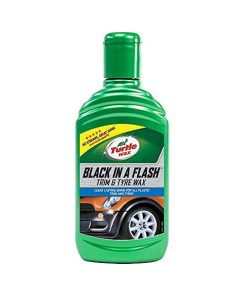 Abrilhantador automóvel Turtle Wax Black in a Flash (300 ml)