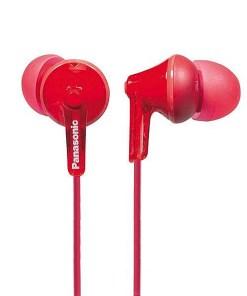 Auriculares Panasonic RP-HJE125E in-ear Vermelho