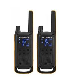 Walkie-Talkies Motorola T82 Extreme (2 Pcs) Preto Amarelo