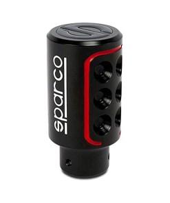 Botão de Alavanca de Câmbio Sparco SPC RACING Preto/Vermelho