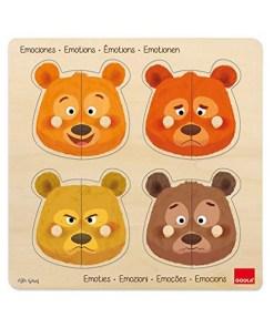Puzzle Emotions Diset (2+ anos)