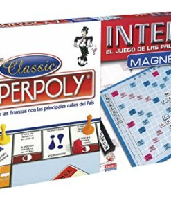 Jogo de Mesa Superpoly + Intelect Falomir
