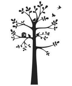Vinil (150 x 90 cm) Árvore