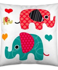 Capa de travesseiro Icehome Elephant (60 x 60 cm)