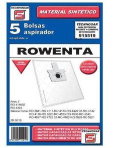 Bolsa Sobresselente para Aspirador Tecnhogar 915519 (5 uds)