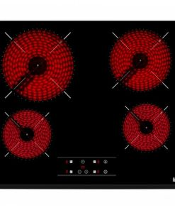 Placa vitrocerâmica Teka TZ6418 60 cm Preto (4 Zonas de cozedura)