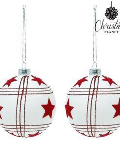 Bolas de Natal Christmas Planet 8656 8 cm (2 uds)