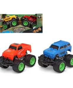 Conjunto veículos 4 X 4 World Racing 119287 (2 uds)