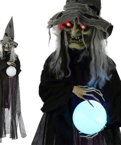 Bruxa Suspensa Halloween 119147 Preto (183 Cm)