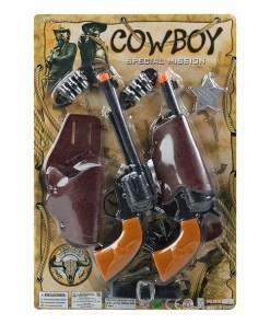 Conjunto de Pistolas do Oeste 116985 (8 pcs)