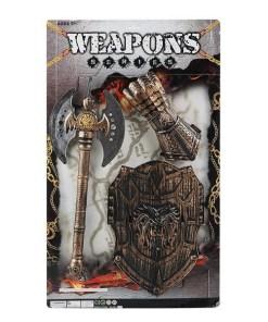 Kit de Armas de Guerreiro 117135 (3 pcs)