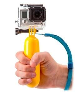 Selfie-stick Flutuante para a Câmara Desportiva KSIX Amarelo