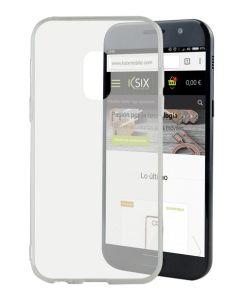 Capa para Telemóvel Samsung Galaxy A5 2017 Flex TPU Ultrafino Transparente
