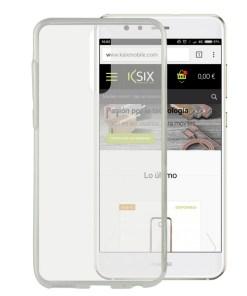 Capa para Telemóvel Huawei Mate 10 Lite Flex Ultrafina Transparente