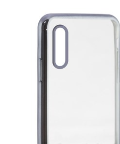 Capa para Telemóvel Iphone Xr KSIX Flex Metal Transparente