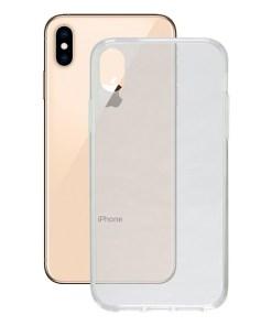 Capa para Telemóvel Iphone Xs Max Contact Flex TPU Transparente