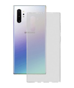 Capa para Telemóvel Samsung Galaxy Note 10 Pro KSIX Flex Transparente