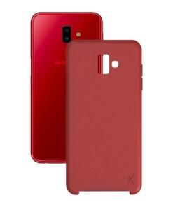 Capa para Telemóvel Samsung Galaxy J6+ 2018 Soft Vermelho