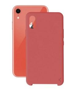Capa para Telemóvel Iphone Xr KSIX Soft Vermelho