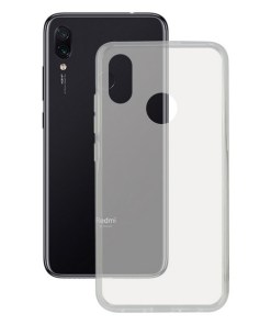 Capa para Telemóvel Xiaomi Redmi Note 7 KSIX Flex Transparente