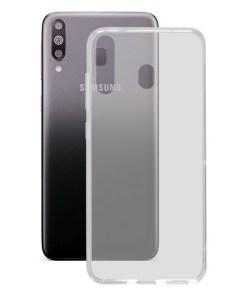 Capa para Telemóvel Samsung Galaxy M30 KSIX Flex TPU Transparente Flexível