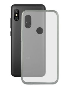 Capa para Telemóvel Xiaomi Redmi Note 6 Pro KSIX Flex TPU Transparente