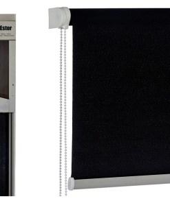 Estore de enrolar Preto (4,5 x 161 x 4,5 cm)