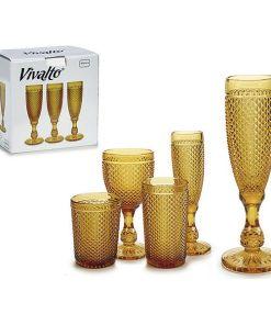Copo de champanhe Âmbar 180 ml (1 pcs)