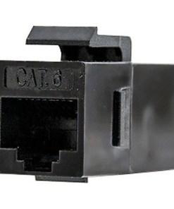 Adaptador RJ45 NANOCABLE 10.21.0501 Cat.6 UTP Preto