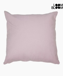 Almofada Cor de rosa (45 x 45 cm) by Loom In Bloom