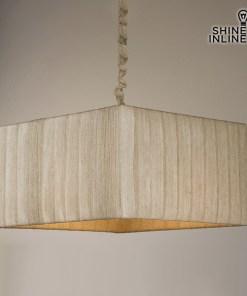 Candeeiro de teto Algodão Poliéster (40 x 40 x 22 cm) by Shine Inline
