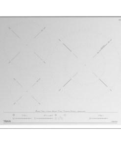 Placa de Indução Teka IZC63632WH 60 cm (3 Zonas de Cozedura)